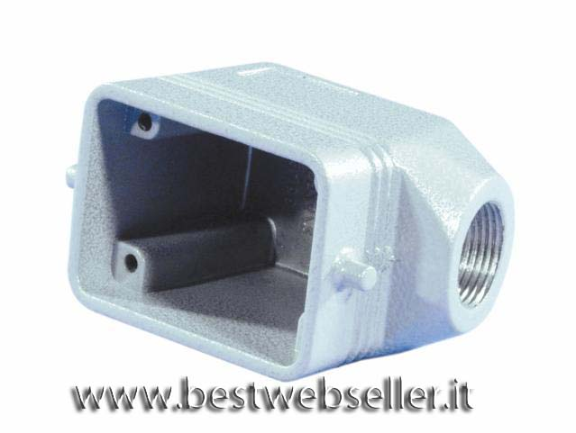 Socket casing per 6-pin, PG13,5, angle