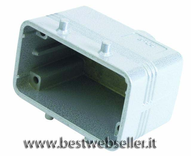 Socket casing per 10-pin, PG 16, straigh