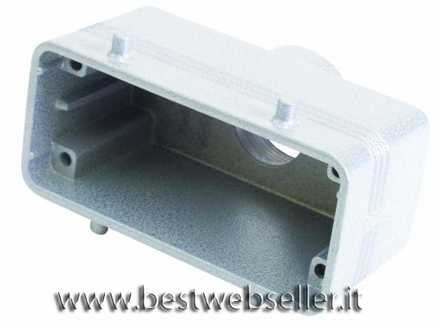 Socket casing per 16-pin, PG 21, straigh
