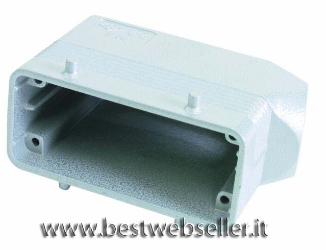 Socket casing,per 16-pin, PG21,angle