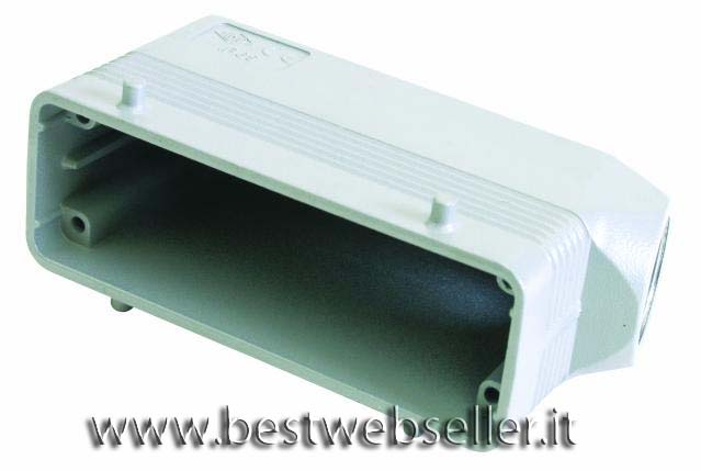 Socket casing per 24-pin, PG 21, angle