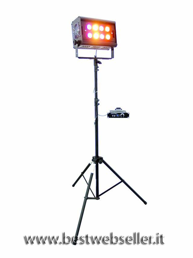 EUROLITE KLS-80 compakt mobile light set