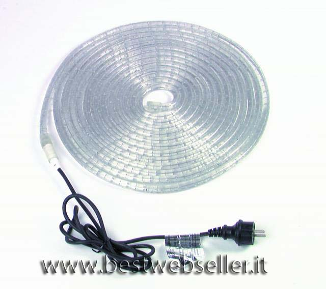 Tubo Luminoso RL1-230V clear 9m