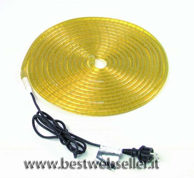 Tubo Luminoso RL1-230V Giallo 9m