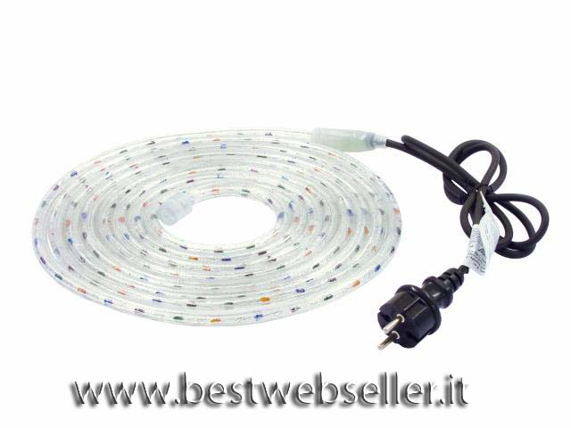 Tubo Luminoso RL2-230 multicolore 10m w. con