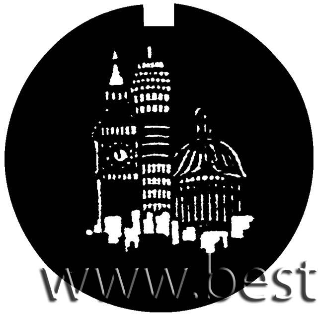 """Logo NIGHT-SKYLINE, """"D"""" 53,3mm"""