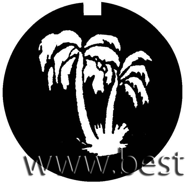 """Logo PALM TREES, """"D"""" 53,3mm"""