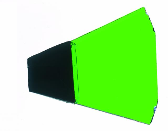 Dichros with holder light di colore verde type 1