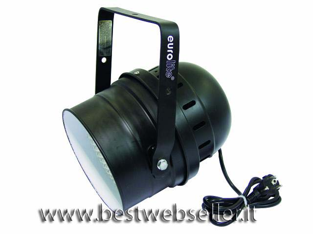 EUROLITE LED PAR-64 RGB spot,colore nero, 10mm