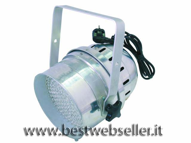 EUROLITE LED PAR-64 spot,alu,10mm, 3200K
