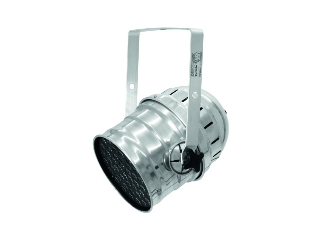 LED PAR-64 RGBAW 49x3W short sil