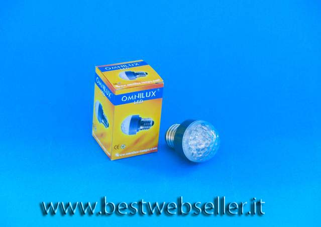 Lampadina OMNILUX LED GHG switching colors E27 SC