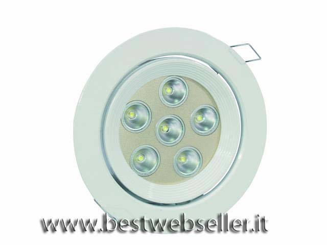 EUROLITE LED DL-6 rosso 40° Ceiling light