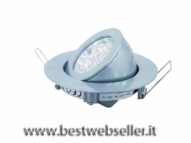 EUROLITE LED DL-105-19-SI-WW Ceiling ligh