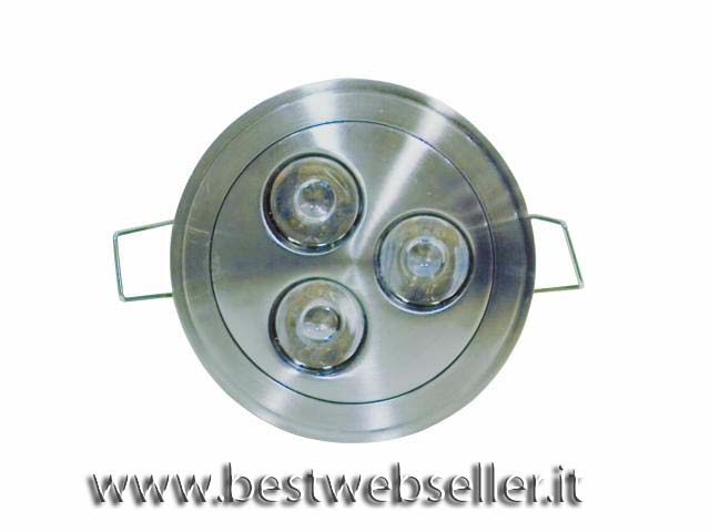 EUROLITE LED DL-79-3-NK-W Ceiling light