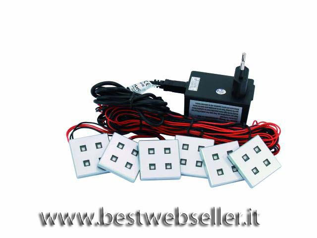 EUROLITE LED DL-4-6 module set Giallo