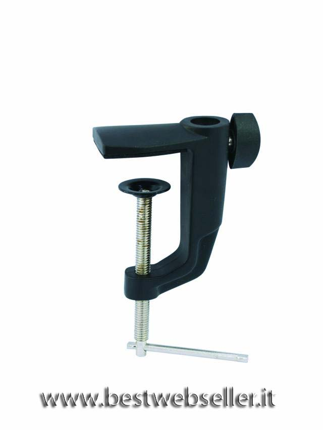 Holder type A f. table Microfono arm blk