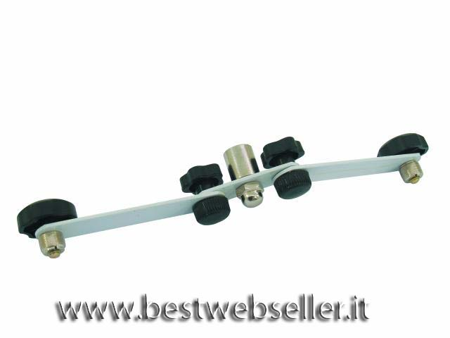 Microfono T-Bar adjustable per 2 mics