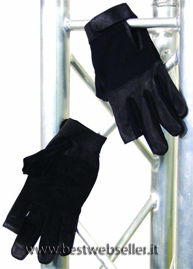 Roadie gloves, size L