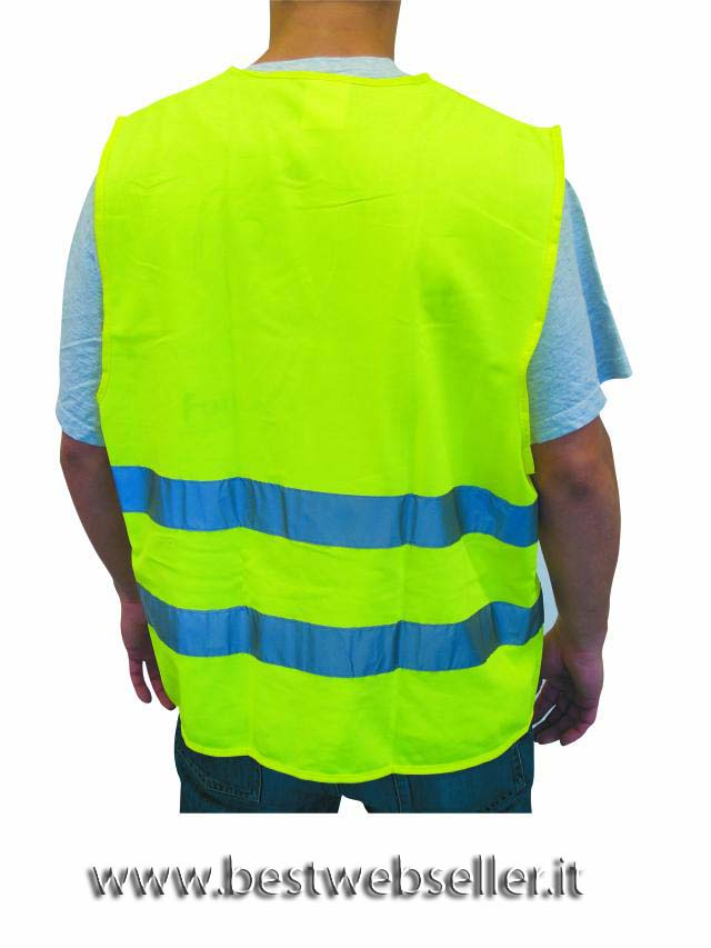 Safety vest Giallo neutral