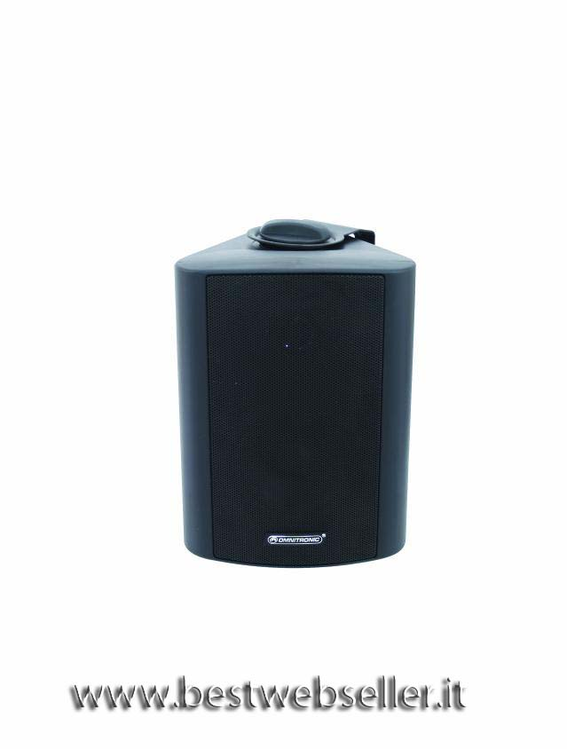 OMNITRONIC WP-3S PA wall speaker colore nero