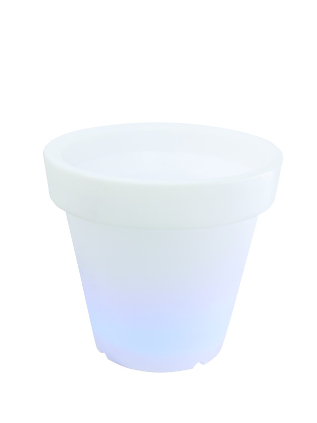 LED Flower Pot 66x62cm rechargeable batt.