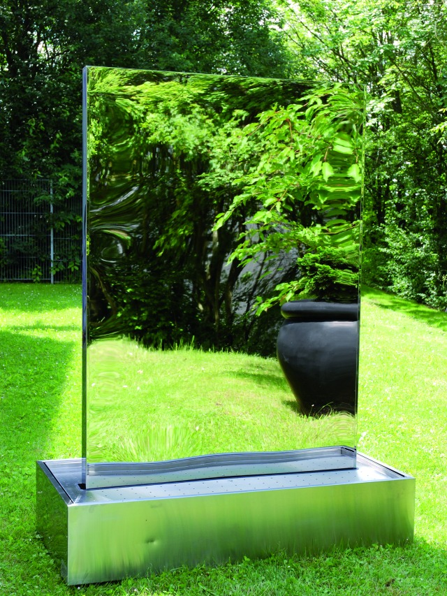 Stainless steel waterwall XXL-size