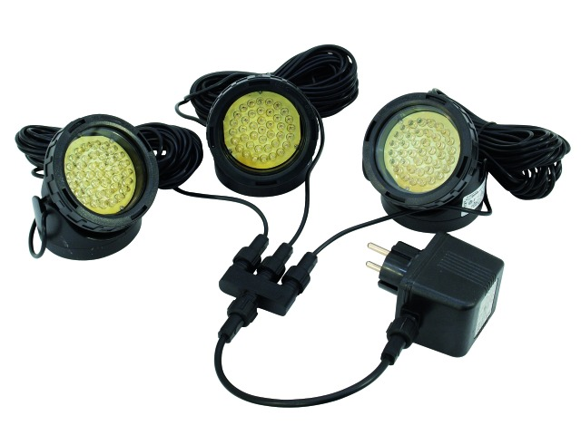 EUROLITE LED IP WW-40 Giallo 5mm Spot