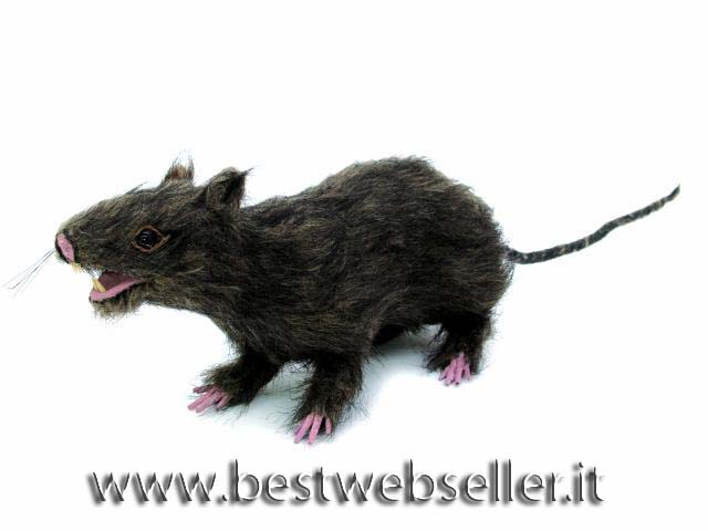 Rat, lifelike with coat