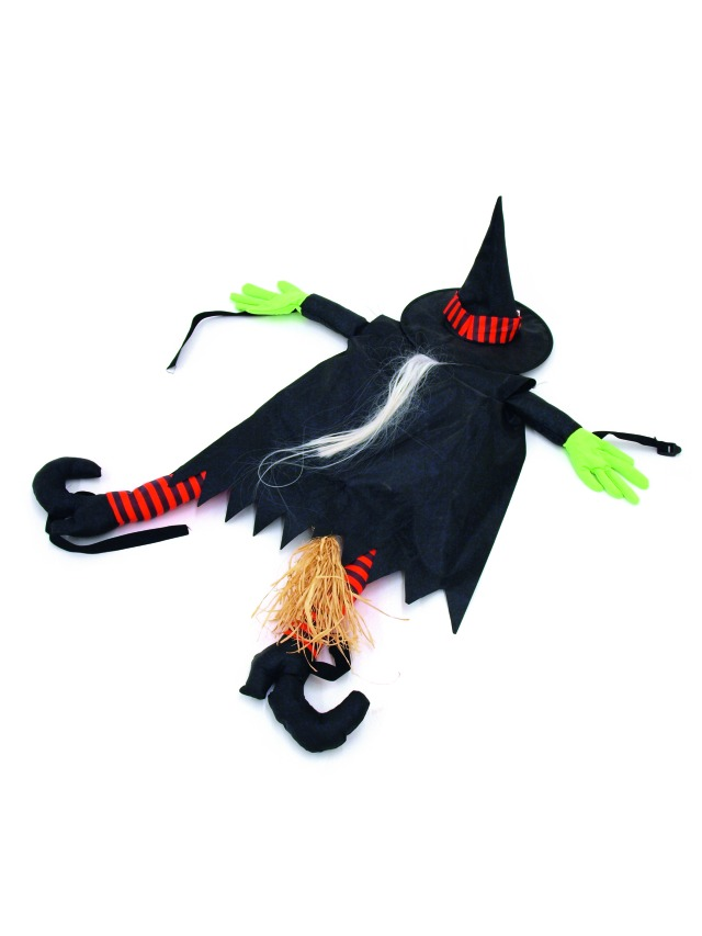 Decorazione Halloween - crashing witch