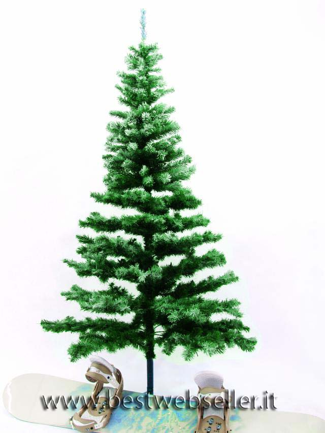 Abete albero, snow-flocked incl.base 240cm