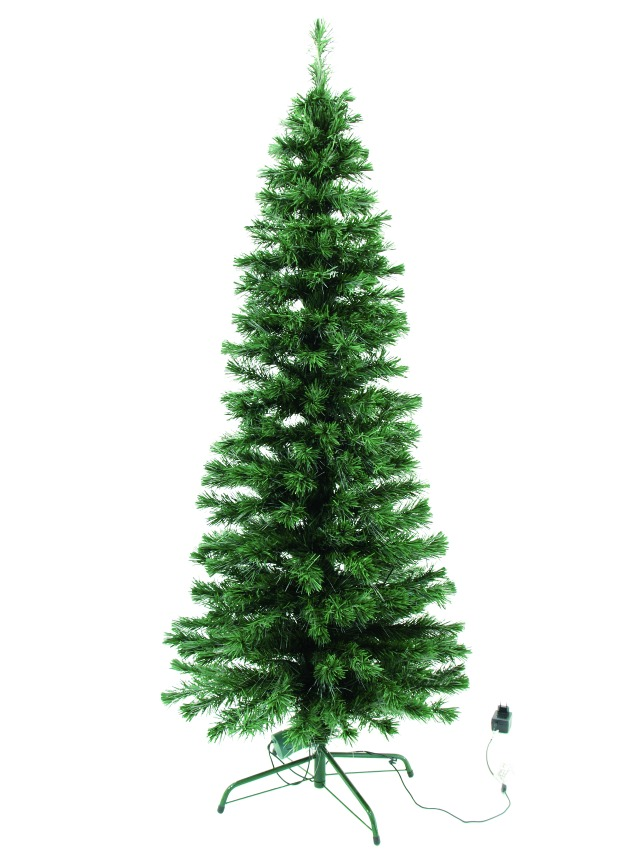 LED fibre optic christmas albero 180cm
