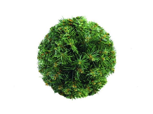 Christmas ball, green, 25cm