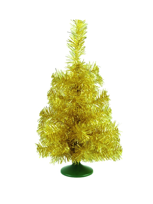 Table christmas tree, gold, 45cm
