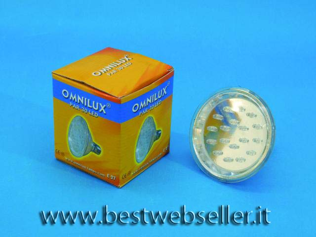 OMNILUX PAR-30 240V E27 18 LED 5mm 3000K