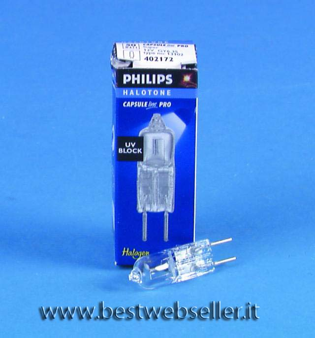 PHILIPS 13102 12V/50W GY-6.35 2000h