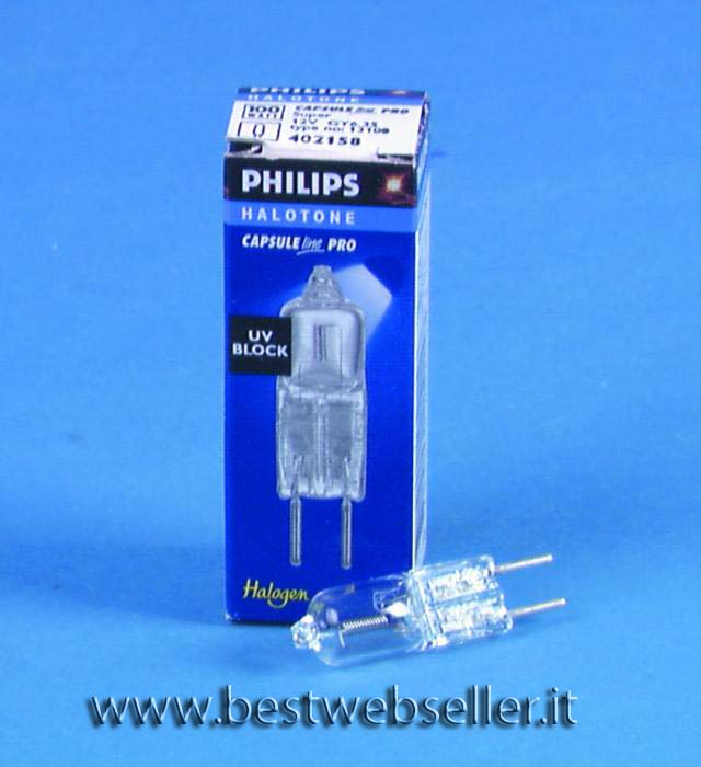PHILIPS 13100 12V/100W GY-6.35 2000h