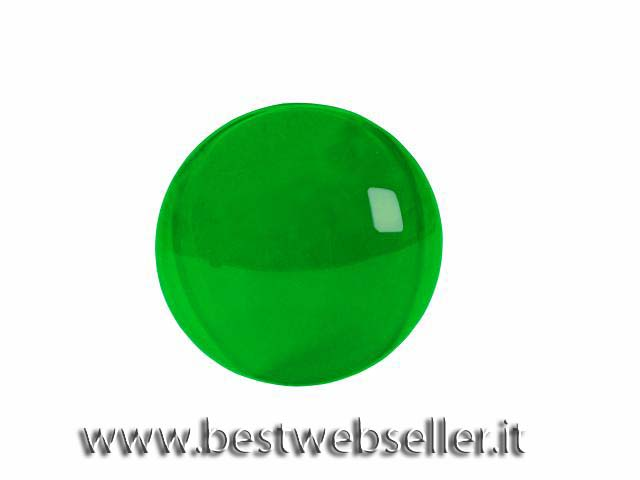 Colour cap per PAR-36, light di colore verde