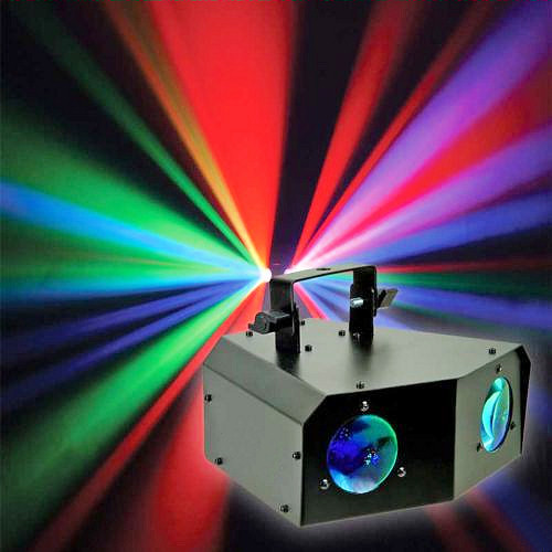 Effetto Luce Scanner Dual Gem Led Double Sky BWS184