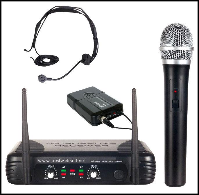Microfoni spia tutte le offerte cascare a fagiolo - Microfono da tavolo wireless ...