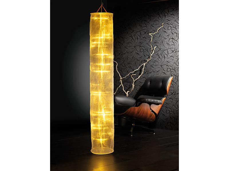 Lampada Decorativa Design Led Organza 150 cm - 40 led