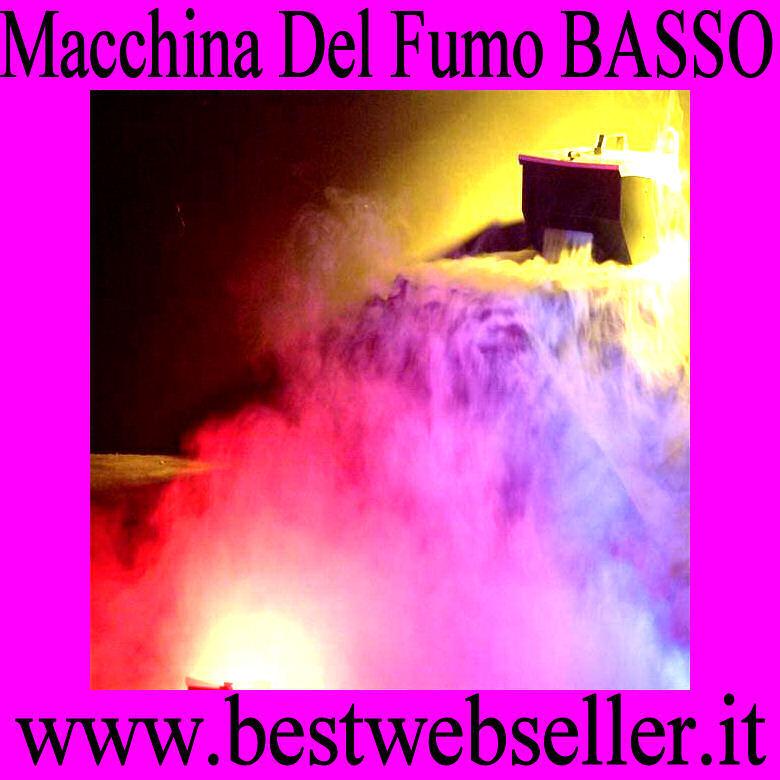 Macchina Del Fumo Basso Con