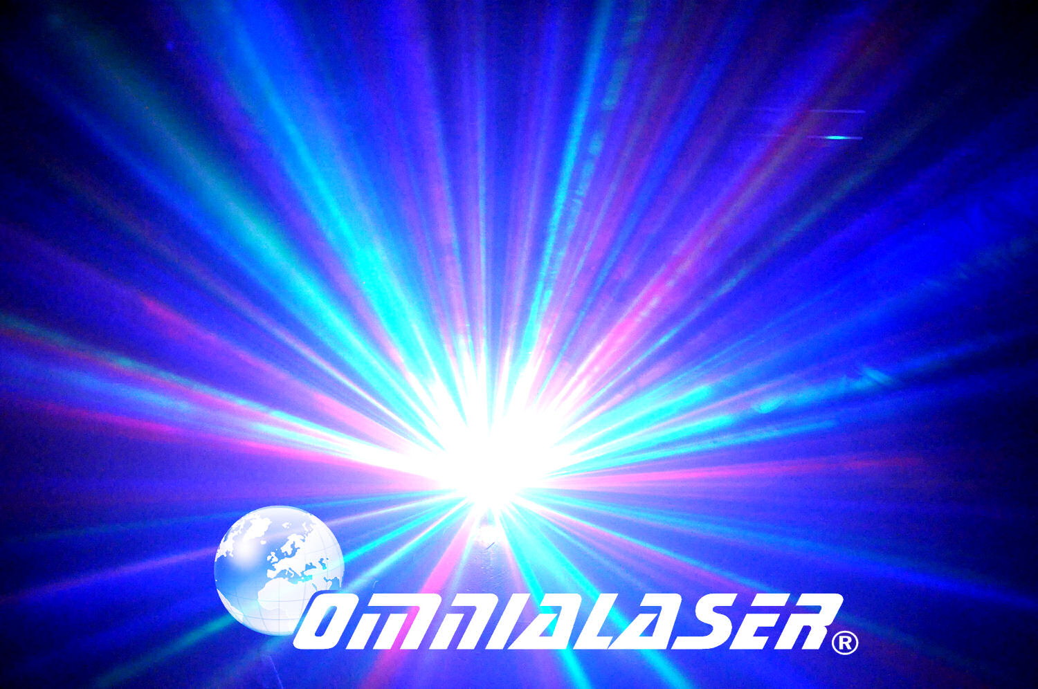 Effetto Luce OmniaLaser Moonflower LED RGB OL-MFL3 E27