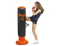 Sacco Pedana Karate Boxe Fitboxe Soft Punch Box NUOVO