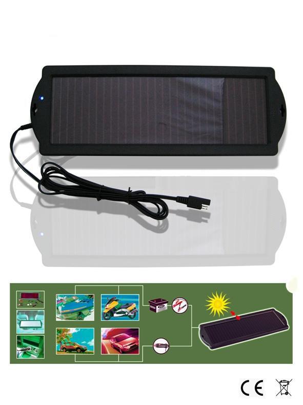 Pannello Solare Per Tetto Auto : Pannello solare carica batterie per auto moto camper