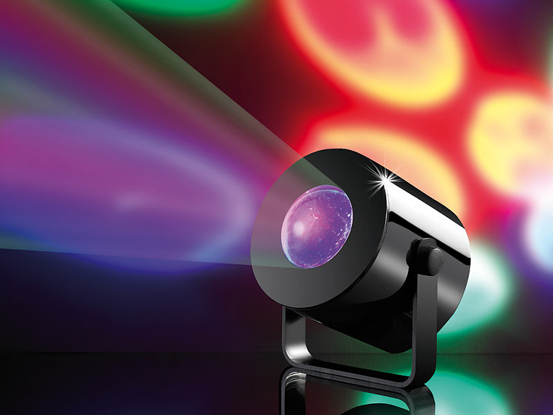 LED Projector Effetto Luce Effetti Luci DJ Mobile Party Ball