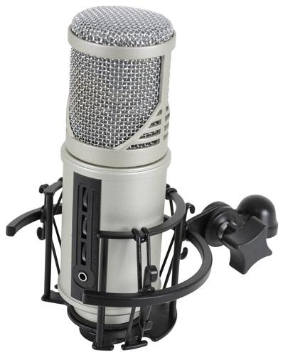 CU-MIC Microfono da studio con interfaccia audio USB